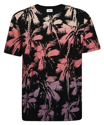 Saint Laurent 604454 YBOZ2 PALM T-shirt
