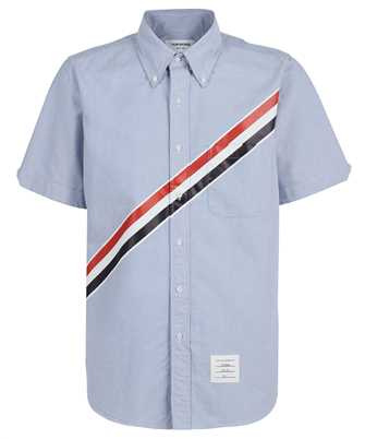 Thom Browne MWS239P 06177 STRAIGHT FIT BUTTON DOWN Shirt