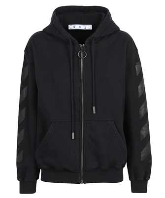 Off-White OWBE005R21JER001 ARROW ZIPPED Hoodie