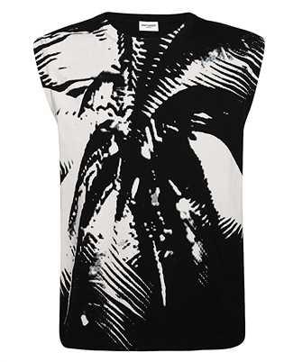 Saint Laurent 603308 YBOZ2 PALM T-shirt