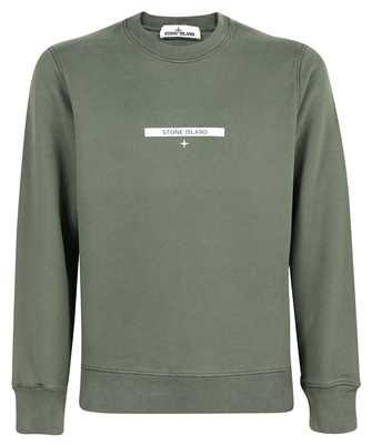 Stone Island 63085 BRUSHED COTTON FLEECE 'MICRO GRAPHICS TWO' PRINT Sweatshirt