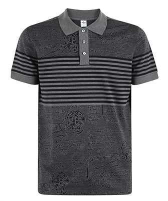 BERLUTI R19JPS44 001 STRIPED Polo