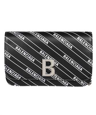 Balenciaga 593615 1NH6Y B CHAIN WALLET Bag