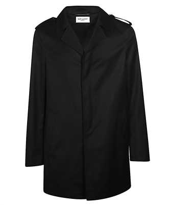 Saint Laurent 602076 Y1A64 BUTTONED RAIN Coat