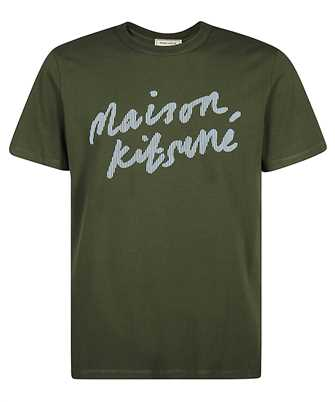 Maison Kitsune GM00113KJ0008 HANDWRITING CLASSIC T-shirt