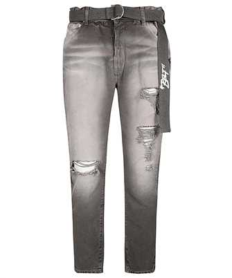 Off-White OMYA005E20DEN001 LOW CROTCH Jeans