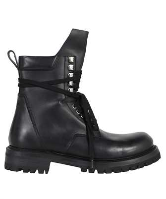 Rick Owens RU02A5862 LGE HIKING ARMY Boots