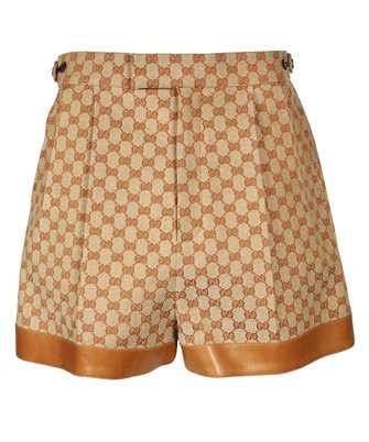 Gucci 661565 Z8AOA GG LINEN CANVAS Shorts