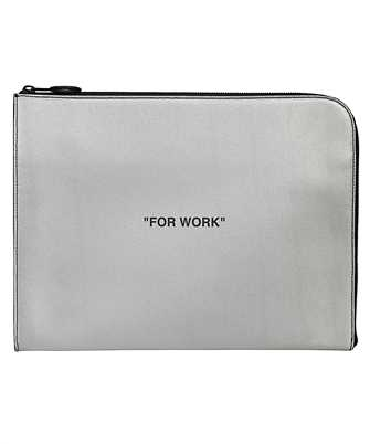 Off-White OMNA053R20G82038 QUOTE Document case