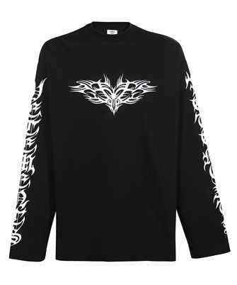 Vetements UA52TR590B GOTHIC LOGO LONGSLEEVE Sweatshirt