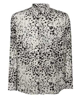 Saint Laurent 634639 Y2B45 SNOW-LEOPARD Shirt