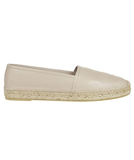 Saint Laurent 458573 B3400 EMBOSSED Espadrilles