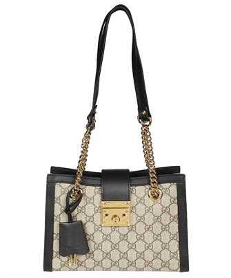 Gucci 498156 KHNKG PADLOCK SMALL GG SHOULDER Bag