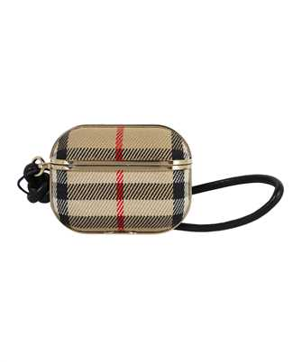 Burberry 8038845 VINTAGE CHECK COTTON AND LAMBSKIN AirPods Pro case