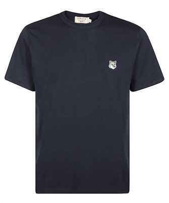 Maison Kitsune GM00118KJ0008 GREY FOX HEAD PATCH CLASSIC T-shirt