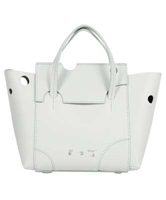 Off-White OWNA177F21LEA001 BURROW-25 TOTE Bag