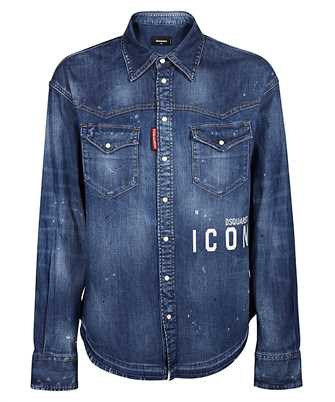 Dsquared2 S80DL0001 S30341 WESTERN DENIM Shirt