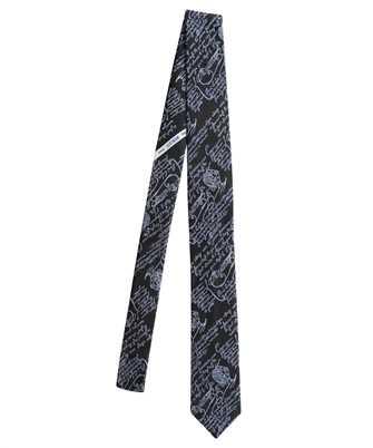 BERLUTI T20TJ57 001 SCRITTO SHADING EFFECT Tie