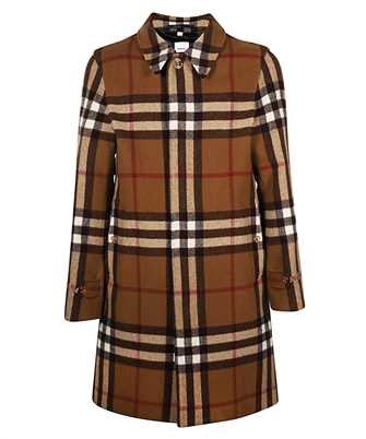 Burberry 8035868 DOUBLE-FACED CHECK WOOL CAR  Coat