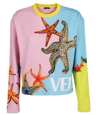 Versace A89329 1F01200 TRÉSOR DE LA MER EMBROIDERED Sweatshirt