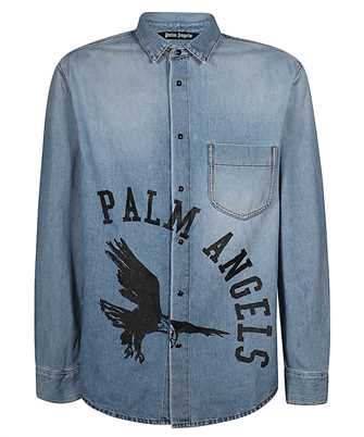 Palm Angels PMYD008E20DEN001 EAGLE Shirt