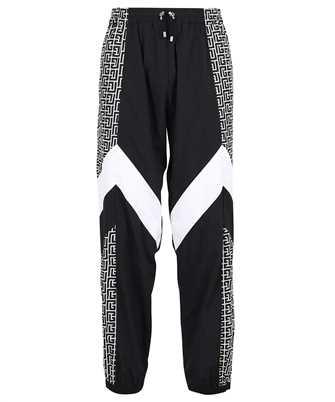 Balmain WH1OB061687I MULTICUTS MONOGRAM NYLON JOG Trousers