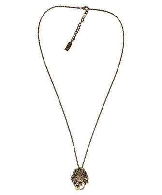 Saint Laurent 632078 Y1500 LION Necklace