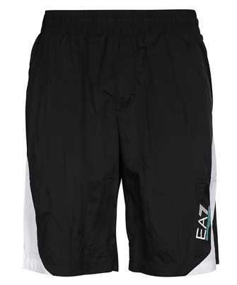 EA7 3KPS06 PN84Z JERSEY FLEECE Shorts