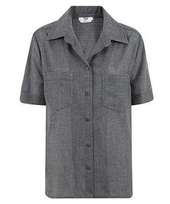Fendi FS7303 AD8V BOWLING COLLAR Shirt
