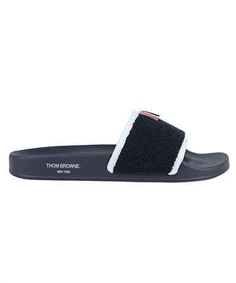 Thom Browne MFL054A 07686 TERRY CLOTH POOL Slides