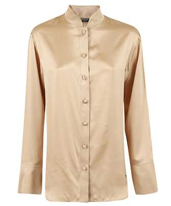 Balmain UF02693111S OVERSIZED SATIN Shirt