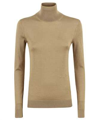 Burberry 8032170 TWO-TONE MERINO WOOL SILK ROLL-NECK Knit