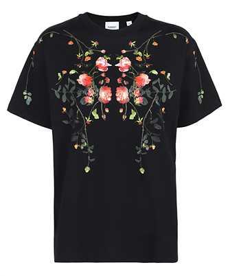 Burberry 8037295 ROSE PRINT COTTON OVERSIZED T-shirt