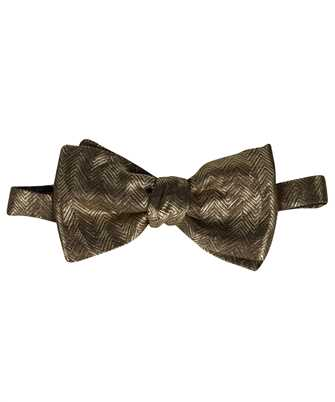 Brioni O1T200 O140N SMALL KNOTTED Bow tie