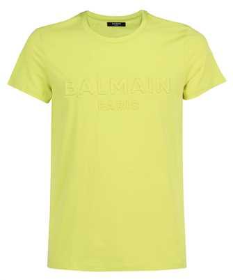 Balmain VH0EF000B038 EMBOSSED T-shirt