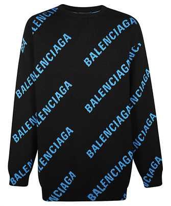 Balenciaga 625970 T3178 ALLOVER LOGO Knit
