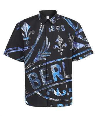 BERLUTI R20HCS37 001 PRINTED CREST SHORT SLEEVE Shirt