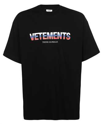 Vetements UA52TR280R RUSSIA LOGO T-shirt