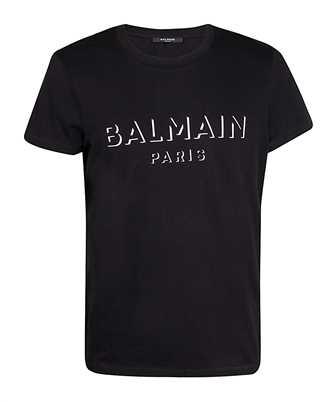 Balmain UH11601I364 3D EFFECT T-shirt