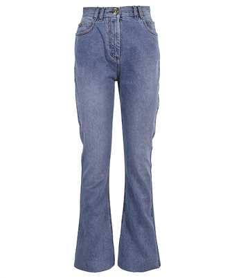 Balmain VF0MJ025D113 HIGH WAIST BOOTCUT Jeans