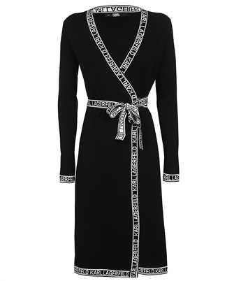 Karl Lagerfeld 215W1330 KNITTED WRAP Dress