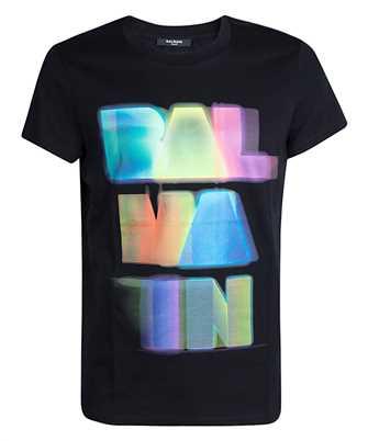 Balmain UH11601I311 MULTICOLOR LOGO T-shirt