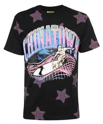 Chinatown Market 1990452 RIDE THE WAVE GLITCH T-shirt