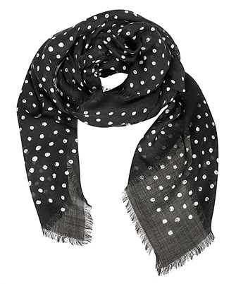 Saint Laurent 551797 4Y209 LIPSTICK DOT Scarf