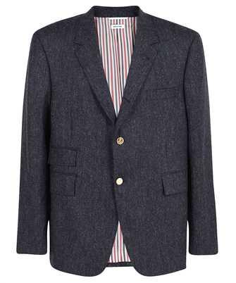 Thom Browne MJC328A 05385 UNIVERSITY SPORT FIT 5 IN DONEGAL TWEED Jacket