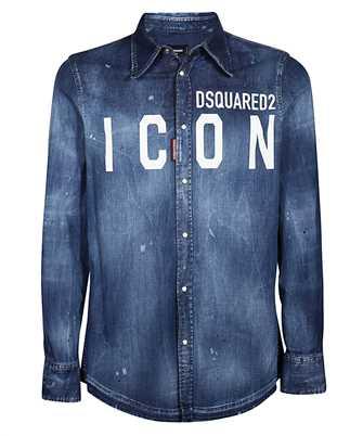 Dsquared2 S79DL0001 S30341 WESTERN DENIM Shirt