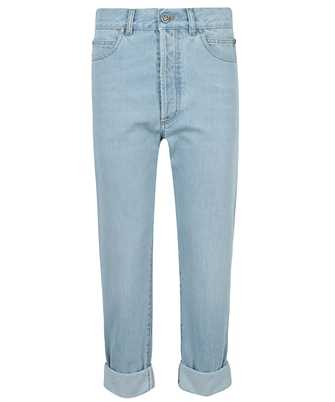 Balmain VH1MM000119D CROPPED DENIM Jeans