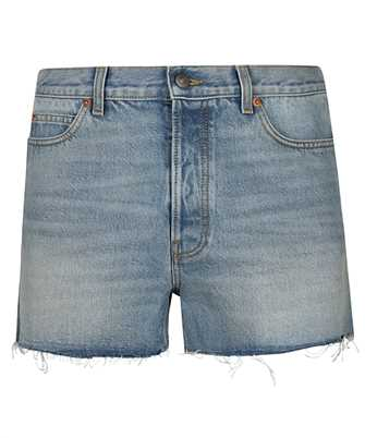 Gucci 640399 XDBIL DONALD DUCK ECO DENIM Shorts