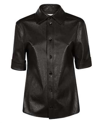 Bottega Veneta 646325 V05G0 STRETCH LEATHER Shirt