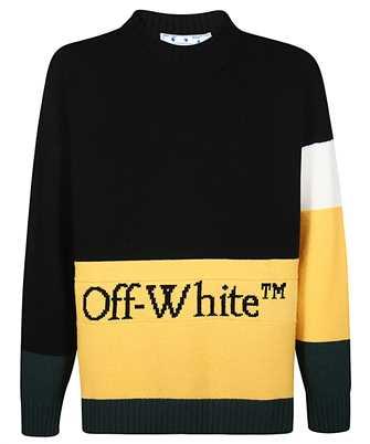 Off-White OMHE048E20KNI001 COLOR BLOCK Knit